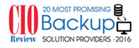 20 Most Promising Back Up Solution Providers 2016